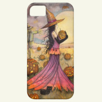 October Fields Halloween Witch iPhone 5 Cover