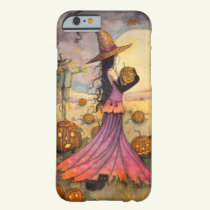 October Fields Halloween Witch iPhone 6 case