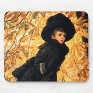 October Fine Art Mouse Pad