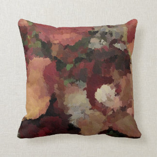 October floral fossil Pillow