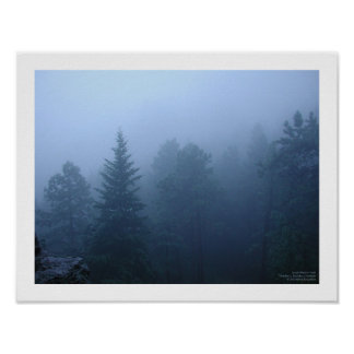 October Forest Poster