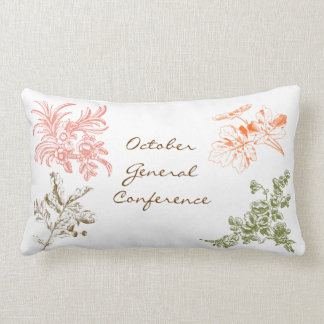 October General Conference Pillow