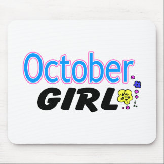 October Girl Mouse Pad