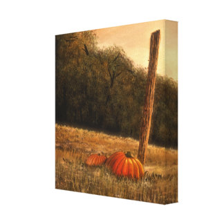 """October in the South (12"""" x 13"""" x 1.5"""") Canvas Print"""