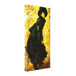October ~ James Tissot Stretched Canvas Print
