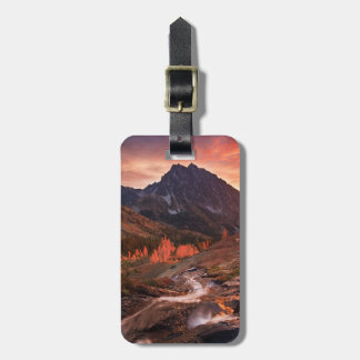 October Light on Headlight Basin Luggage Tag