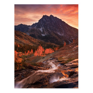 October Light on Headlight Basin Postcard