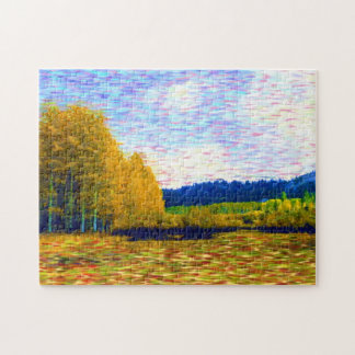 October Meadow jigsaw puzzle