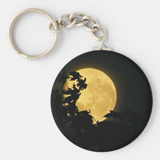 October Moon Keychains