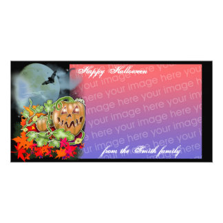 october moon picture card