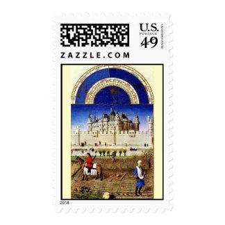 October Postage Stamp