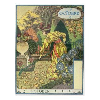 October Postcard