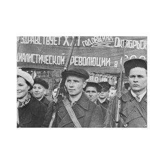 October Revolution Canvas Print