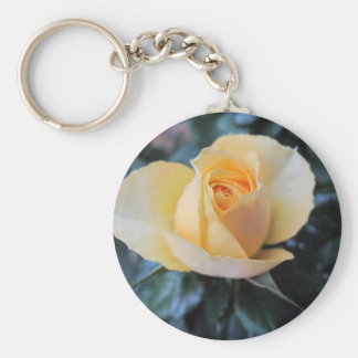October Rose Keychain