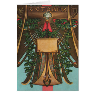 October - Scorpio Greeting Cards