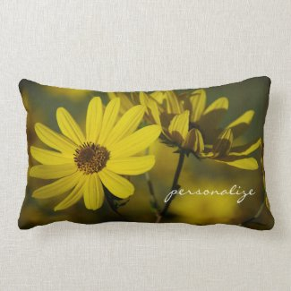 October Sunflowers American MoJo Pillow
