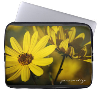 October Sunflowers Electronics Bag Computer Sleeve Cases
