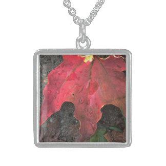 October Sunrise Sterling Silver Necklace