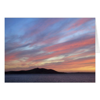 October sunset cards