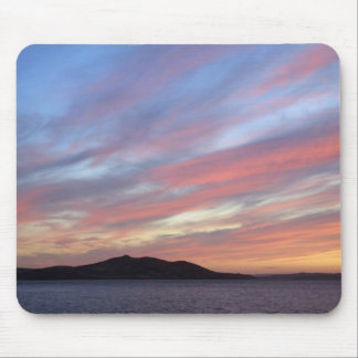 October sunset mouse pad