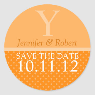 October Wedding Envelope Seal Stickers
