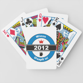 Octoberfest 2012 Octoberfests ozapft is.png Bicycle Playing Cards