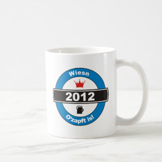 Octoberfest 2012 Octoberfests ozapft is.png Classic White Coffee Mug