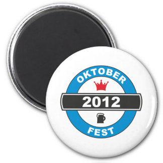 Octoberfest 2012.png 2 inch round magnet