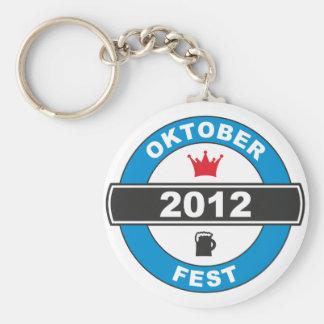 Octoberfest 2012.png basic round button keychain