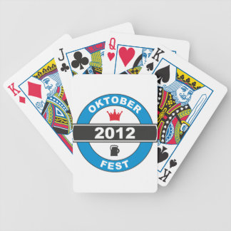 Octoberfest 2012.png bicycle playing cards