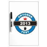Octoberfest 2013 Dry-Erase whiteboards