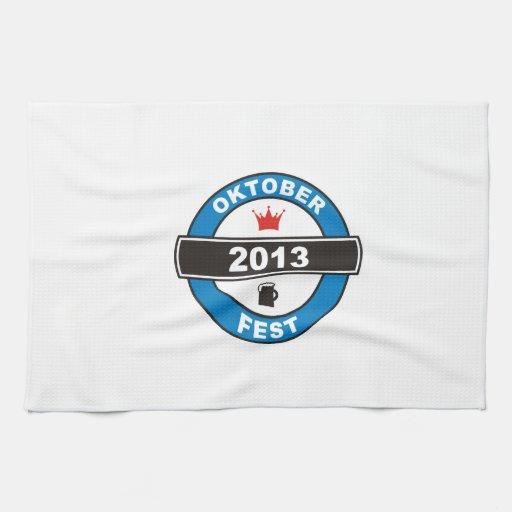 Octoberfest 2013 hand towels