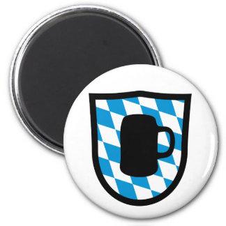 Octoberfest Bavaria 2 Inch Round Magnet