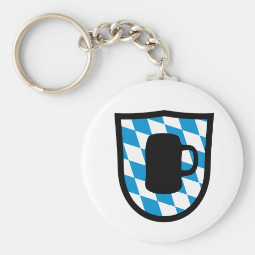 Octoberfest Bavaria Keychain