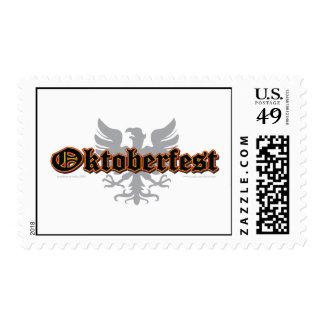 Octoberfest Bird Postage Stamps