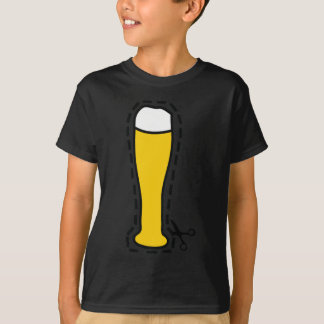 octoberfest cutout wheat beer bavaria T-Shirt