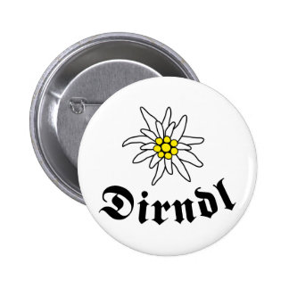 Octoberfest Dirndl Pinback Buttons