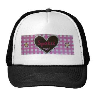 Octoberfest - gingerbread heart Spatzl with pink K Trucker Hat