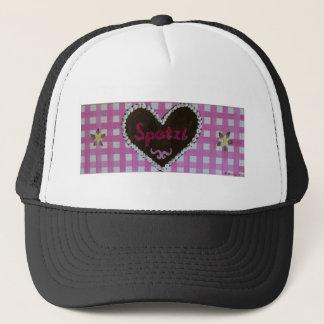 Octoberfest - gingerbread heart Spatzl with pink Trucker Hat