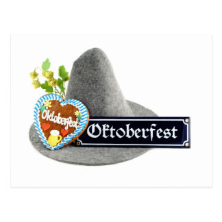 Octoberfest going hereditary READ with has and Postcard