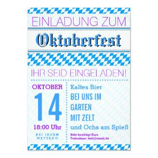 Octoberfest invitation lozenges