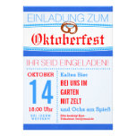 Octoberfest invitation subtly