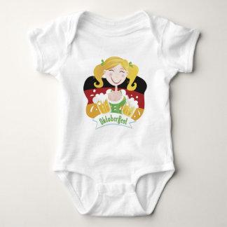 Octoberfest Mädchen Baby Bodysuit