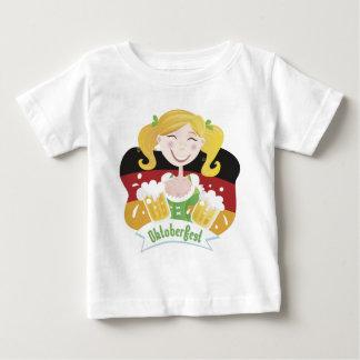 Octoberfest Mädchen Baby T-Shirt