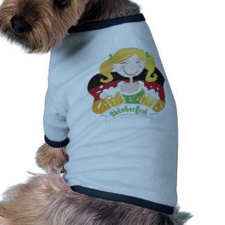 Octoberfest Mädchen Camisas De Mascota