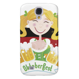 Octoberfest Mädchen Funda Para Galaxy S4