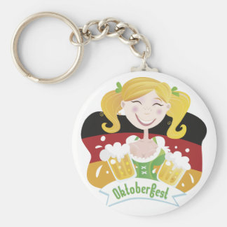 Octoberfest Mädchen Llaveros Personalizados