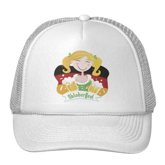 Octoberfest Mädchen Trucker Hat