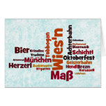 Octoberfest Octoberfest Octoberfest Munich Munich Greeting Cards