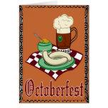 Octoberfest, Oktoberfest, alemán Tarjeta De Felicitación